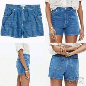 Madewell Westside denim shorts